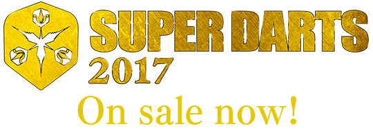SUPER DARTS 2017 Make a HERO DVD&VOD On sale now!