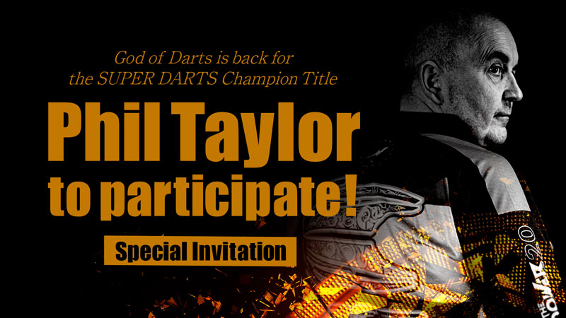 Phil Taylor to participate!